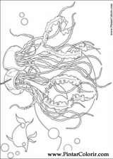 Pintar e Colorir Gang Dos Tubaroes - Desenho 001
