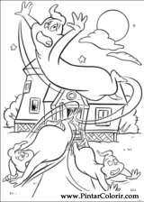 Pintar e Colorir Gasparzinho - Desenho 021