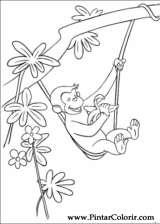 Pintar e Colorir George Curioso - Desenho 008