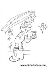 Pintar e Colorir George Curioso - Desenho 039