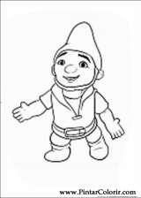 Pintar e Colorir Gnomeu Julieta - Desenho 008