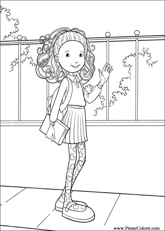 10 Beautiful Groovy Girls Coloring Pages For Your Little Ones ... | 794x567