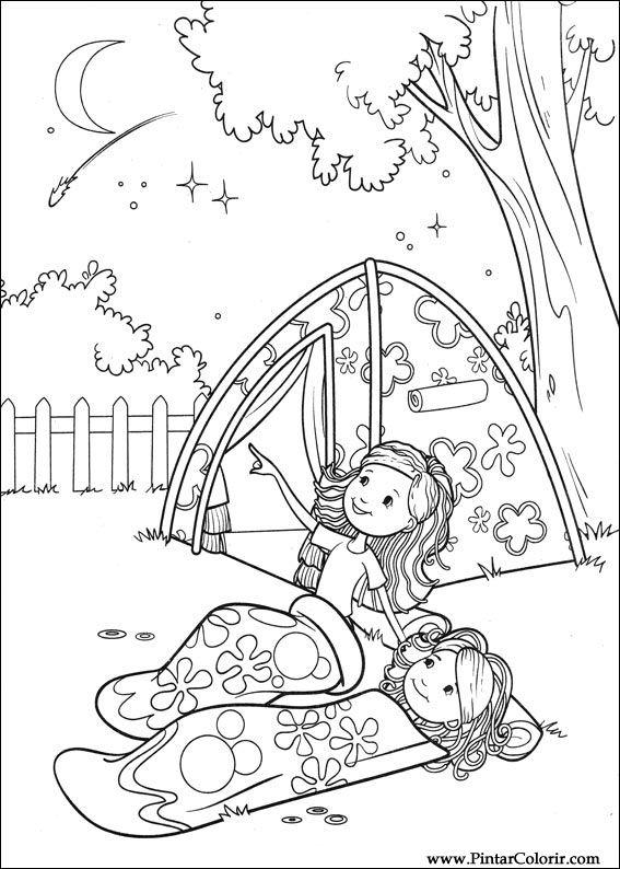çizimler Boya Ve Renk Groovy Kızlar Için Baskı Tasarım 057