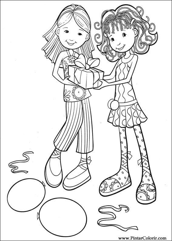 Disegni Per Dipingere Colour Groovy Girls Stampare Realizzazione 065