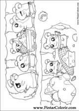 Pintar e Colorir Hamtaro - Desenho 019