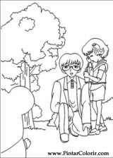 Pintar e Colorir Hamtaro - Desenho 027
