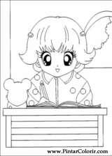 Pintar e Colorir Hamtaro - Desenho 032