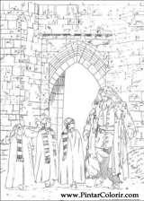 Pintar e Colorir Harry Potter - Desenho 004