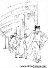 Pintar e Colorir Harry Potter - Desenho 005