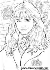 Pintar e Colorir Harry Potter - Desenho 019