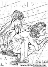 Pintar e Colorir Harry Potter - Desenho 034