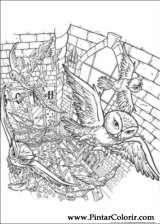 Pintar e Colorir Harry Potter - Desenho 069