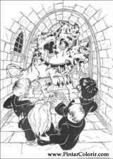 Pintar e Colorir Harry Potter - Desenho 072