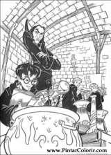 Pintar e Colorir Harry Potter - Desenho 088