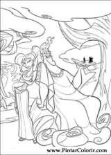 Pintar e Colorir Hercules - Desenho 007
