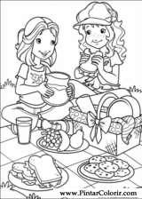 Pintar e Colorir Holly Hobbie - Desenho 004