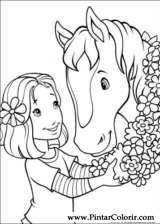 Pintar e Colorir Holly Hobbie - Desenho 010