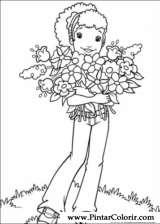Pintar e Colorir Holly Hobbie - Desenho 011