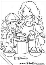 Pintar e Colorir Holly Hobbie - Desenho 013