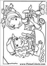 Pintar e Colorir Holly Hobbie - Desenho 016