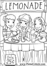 Pintar e Colorir Holly Hobbie - Desenho 017