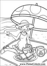 Pintar e Colorir Holly Hobbie - Desenho 021