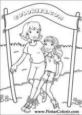 Pintar e Colorir Holly Hobbie - Desenho 031