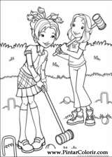 Pintar e Colorir Holly Hobbie - Desenho 033