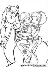 Pintar e Colorir Holly Hobbie - Desenho 036