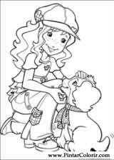 Pintar e Colorir Holly Hobbie - Desenho 039