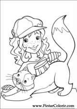 Pintar e Colorir Holly Hobbie - Desenho 040