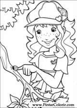 Pintar e Colorir Holly Hobbie - Desenho 042