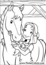 Pintar e Colorir Holly Hobbie - Desenho 043