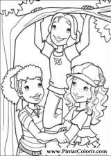 Pintar e Colorir Holly Hobbie - Desenho 047
