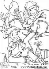 Pintar e Colorir Holly Hobbie - Desenho 048