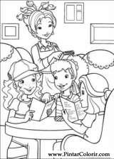 Pintar e Colorir Holly Hobbie - Desenho 050