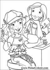 Pintar e Colorir Holly Hobbie - Desenho 051