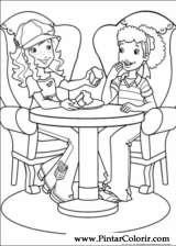 Pintar e Colorir Holly Hobbie - Desenho 052