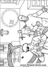 Pintar e Colorir Homem Aranha - Desenho 035