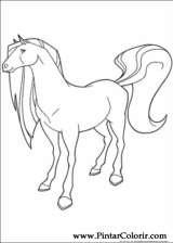 Pintar e Colorir Horseland - Desenho 022