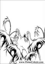 Pintar e Colorir Horton - Desenho 007