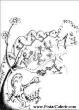 Pintar e Colorir Horton - Desenho 017