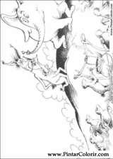 Pintar e Colorir Horton - Desenho 028