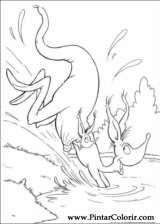 Pintar e Colorir Horton - Desenho 045