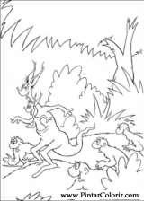 Pintar e Colorir Horton - Desenho 065