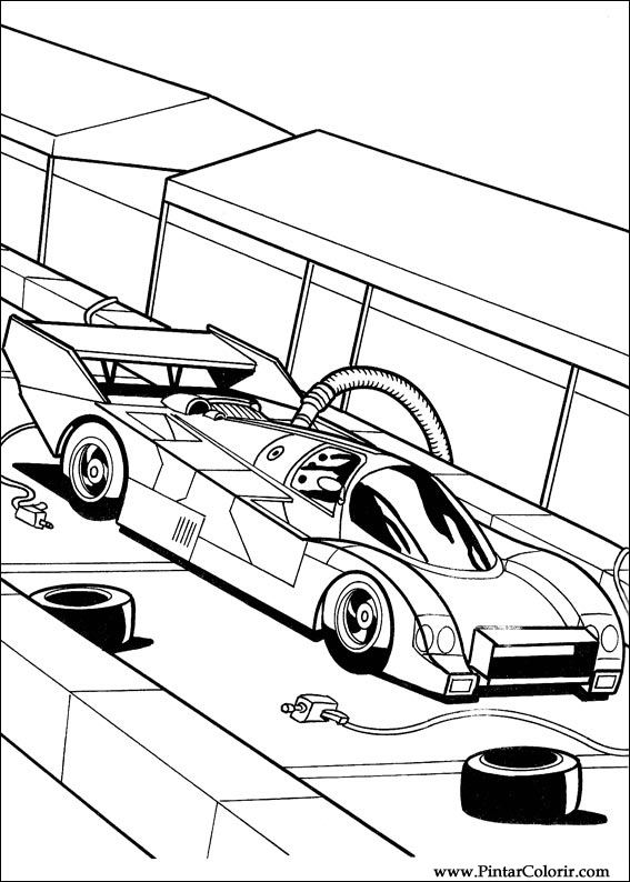 Hot Wheels Hot Wheels Drawing Pictures