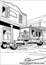 Pintar e Colorir Hot Wheels - Desenho 002