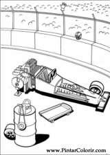 Pintar e Colorir Hot Wheels - Desenho 018