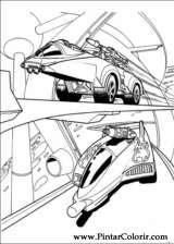 Pintar e Colorir Hot Wheels - Desenho 024