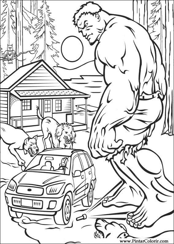 desenhos para pintar e colorir hulk imprimir desenho 011